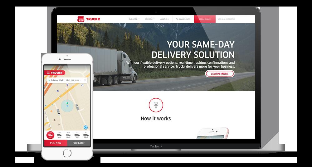 Uber for Trucks & Uber for Movers App clone|Customisable